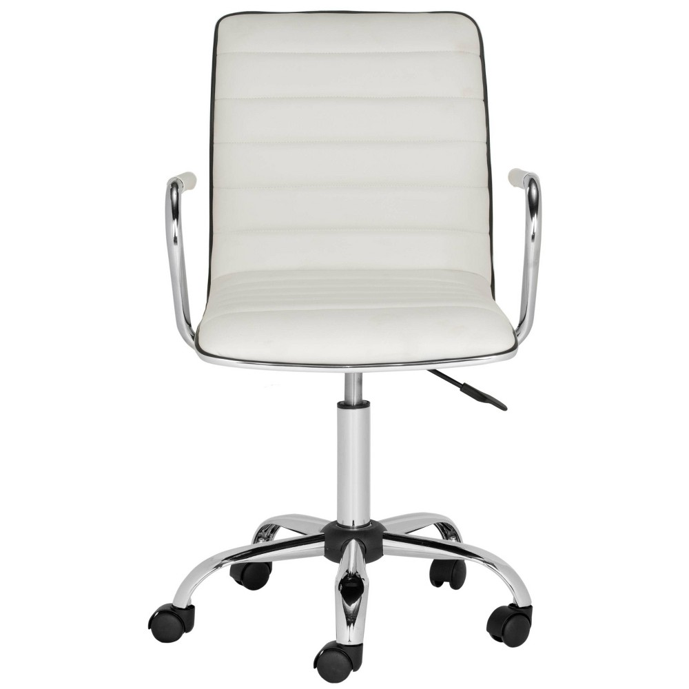 Jonika Desk Chair White - Safavieh