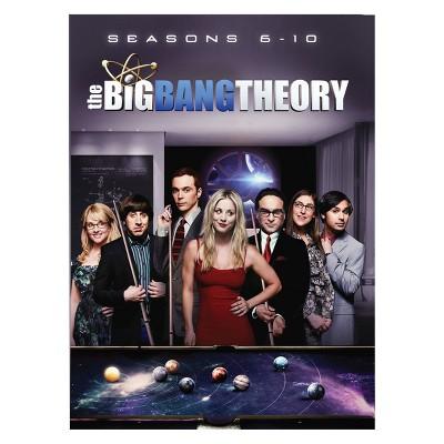 Big Bang Theory S6-10 (DVD)