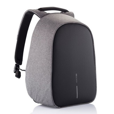 XD Design Bobby Hero Anti Theft Travel Eco Friendly Laptop Backpack with USB Port, RFID Protected Pockets, and Hidden Zippers, Grey