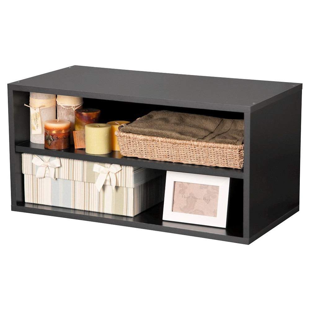 Large Shelf Cube Black 30 - Foremost