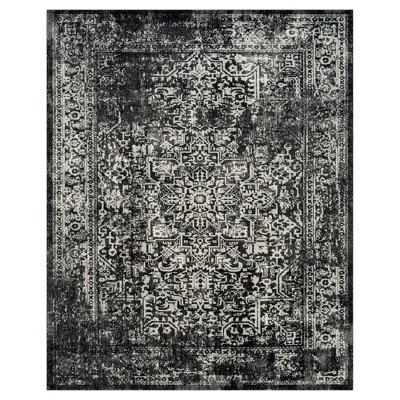 Evoke Rug - Black/Gray - 8'x10' - Safavieh