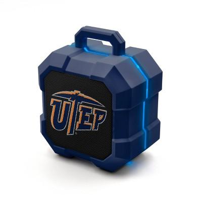 NCAA UTEP Miners LED ShockBox Bluetooth Speaker