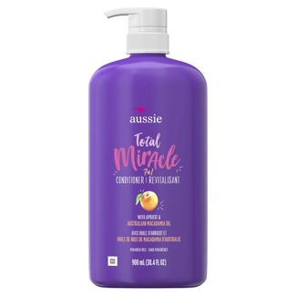 Aussie Paraben-Free Total Miracle Conditioner With Apricot For Damage Hair - 30.4 Fl Oz : Target