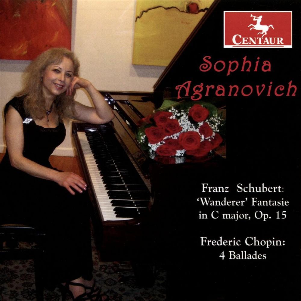 Sophia Agranovich - Chopin/Schubert:Wanderer Fantasie/4 B (CD)