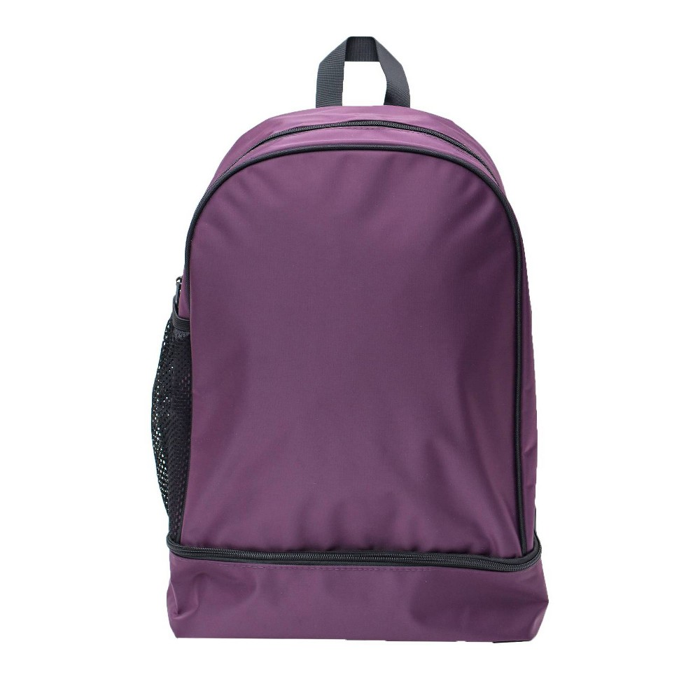 "Image of ""18"""" Nylon Dome Backpack - Purple, Size: Large"""