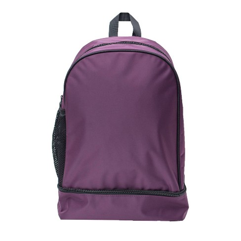 "18"" Nylon Dome Backpack - Purple - image 1 of 4"