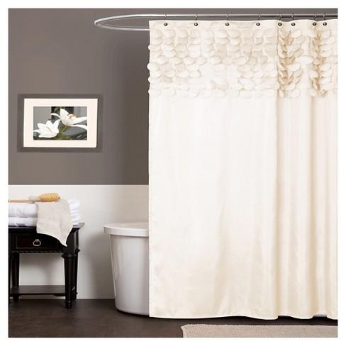 Lillian Shower Curtain Beige