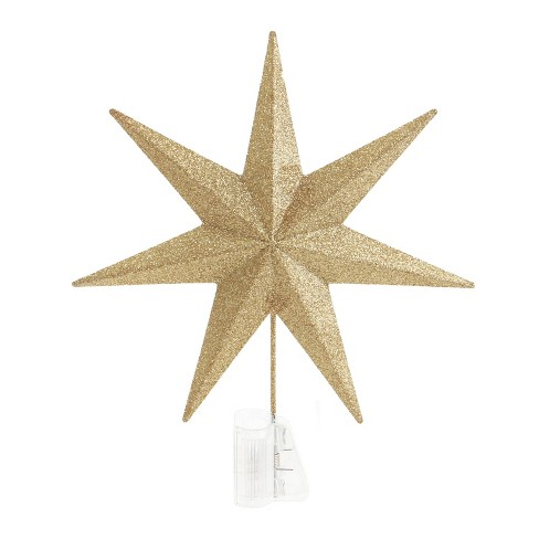 45f7766fe96d capiz star christmas tree topper looks just like mine. gold mirrored ...