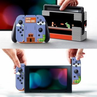 Nintendo Switch Super Mario Bros. Skin and Protector Set
