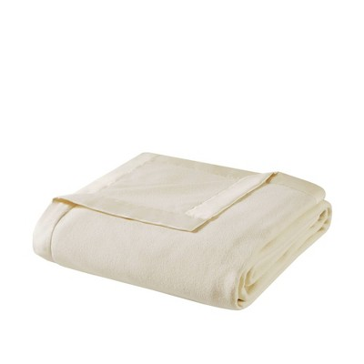 Micro Fleece Blanket (Full/Queen)Ivory