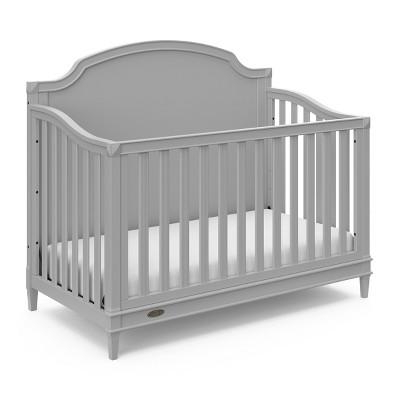 Graco Alicia 4-in-1 Convertible Crib - Pebble Gray