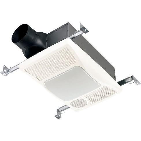 Broan 100HL 100 CFM 2 Sone Ceiling Mounted HVI Certified Bath Fan - image 1 of 1