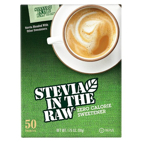 Stevia In The Raw Zero Calorie Sweetener Packets - 50ct/1.75oz - image 1 of 6