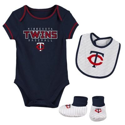 MLB Minnesota Twins Baby Boys' Short Sleeve Layette Set