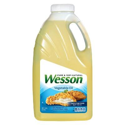 Wesson Vegetable Oil - 128 fl oz