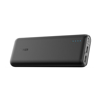 Anker PowerCore 15600mAh 2-Port Power Bank - Black