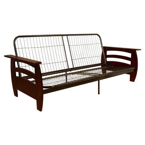 Savannah Futon Sofa Sleeper Bed Frame - Sit N Sleep - image 1 of 4