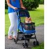 "Pet Gear Happy Trails No-Zip Dogs Stroller - 30.5""L x 15""W - image 3 of 4"