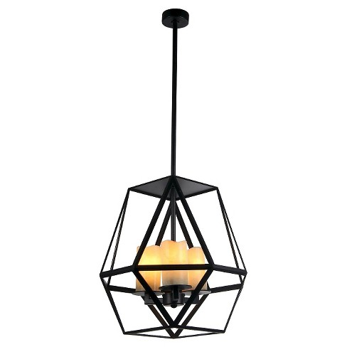 Warehouse Of Tiffany 18 X 18 X 20 Inch Black Ceiling Lights - image 1 of 1