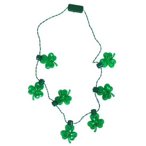 d52b0cb1c3a St. Patrick s Day Necklace Green - Spritz™   Target