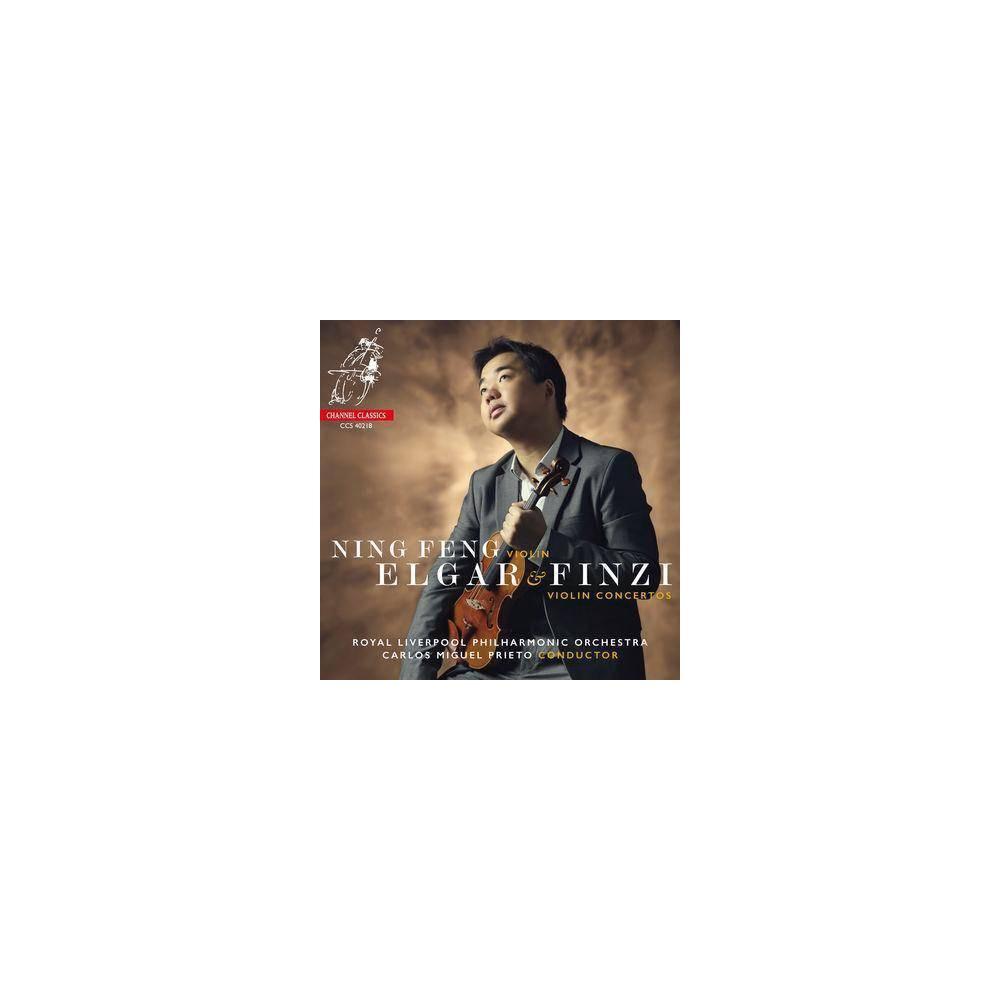 Ning Feng - Elgar & Finzi: Violin Concertos (CD) Best