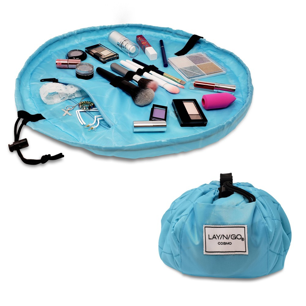 """Image of """"Lay-n-Go COSMO Makeup Bag - 20"""""""" - Blue"""""""