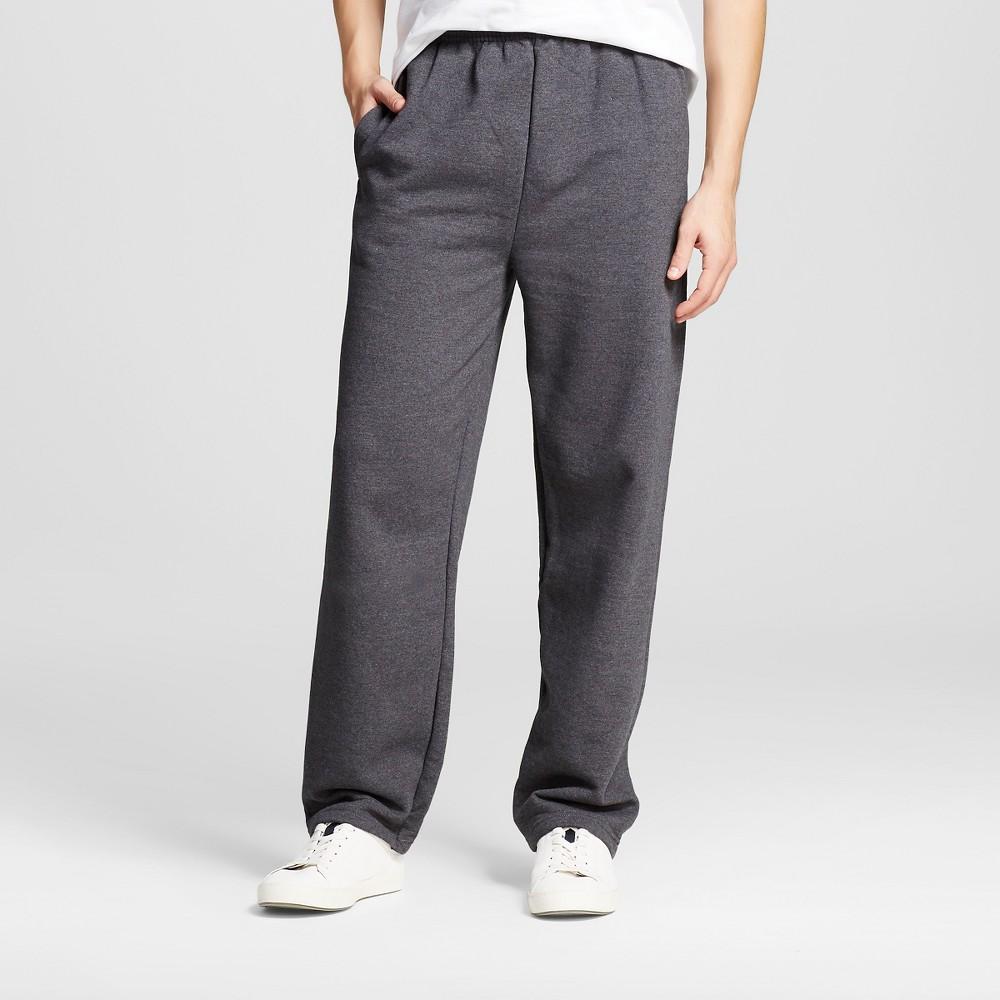Hanes Premium Men's Fleece Sweatpants - Dark Gray M, Grey