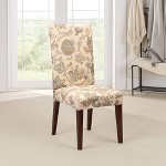 Stretch Pique Short Dining Room Chair Slipcover Sure Fit Target