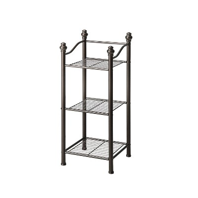 Three Tier Belgium Tower Chrome - Neu Home
