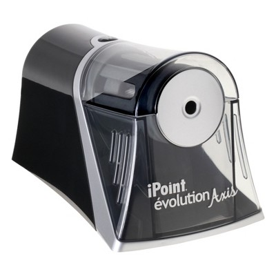 Electric Pencil Sharpener Black - Westcott iPoint Evolution Axis