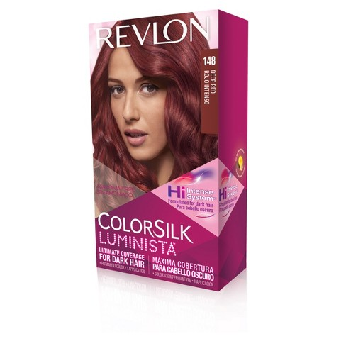 Revlon Colorsilk Luminista Permanent Hair Color Dark Hair 148 Deep