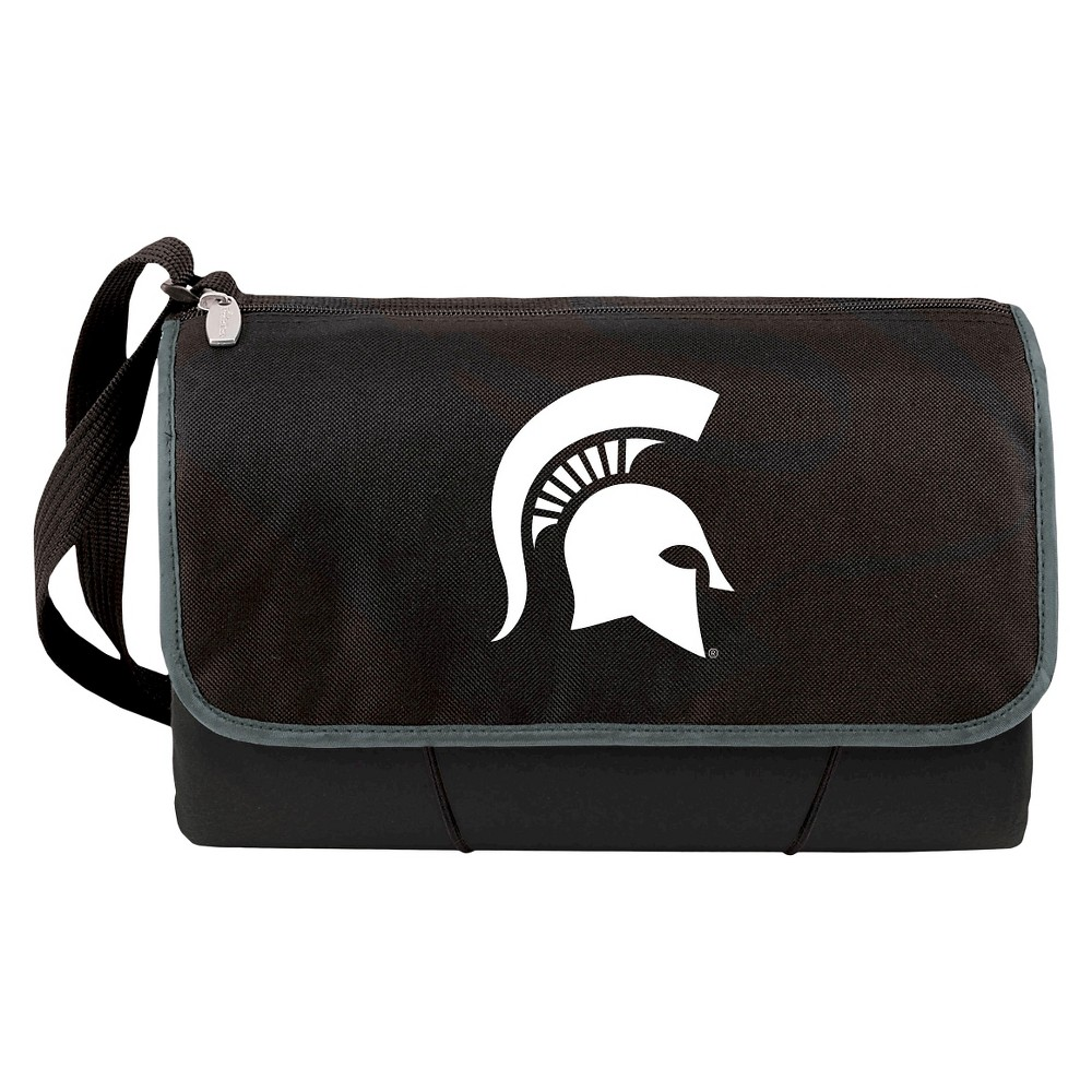 Slumber Bed Mat/sack NCAA One Size Michigan State Spartans Black