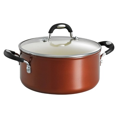 Tramontina Style Ceramica 5 Quart Aluminum Dutch Oven - Metallic Copper