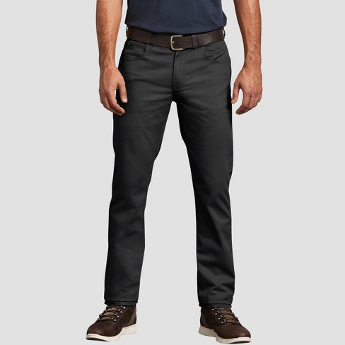 Dickies Men's Tapered Fit Trousers - Black - image 1 of 2
