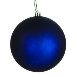 "Vickerman 2.75""/12ct UV Coated Mat Ball Ornament Midnight Blue"