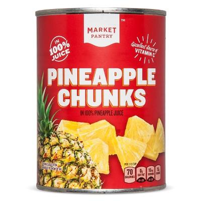 Chunky Pineapple 20oz - Market Pantry™
