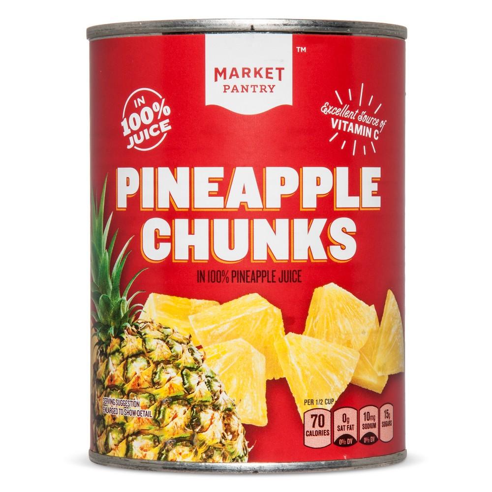 Chunky Pineapple 20 oz - Market Pantry