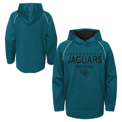 newest 18cff 270ac Jacksonville Jaguars Boys' In the Game Poly Embossed Hoodie S