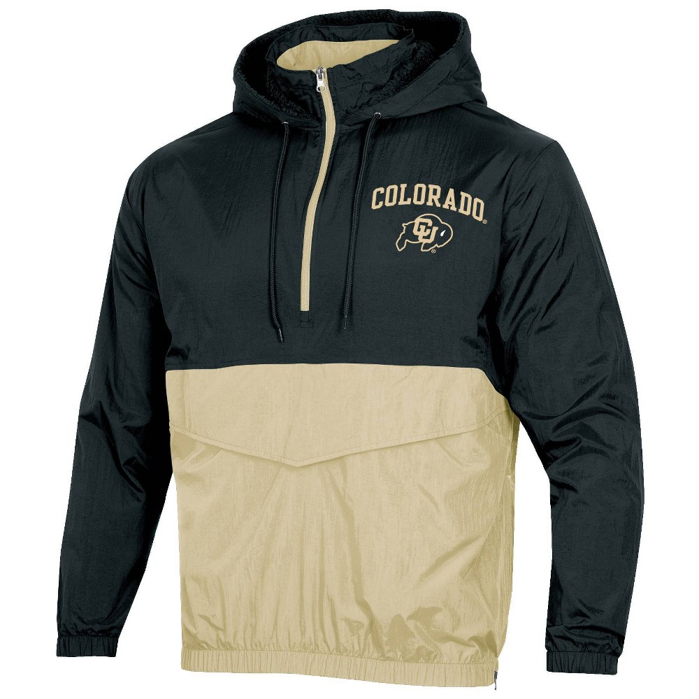 Ncaa Colorado Buffaloes Men 39 S 1 4 Zip Windbreaker Jacket Xl