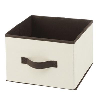 mDesign Soft Fabric Closet Storage Organizer Cube Bin, 10 pack