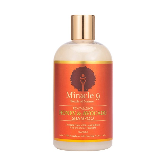 Miracle 9 Touch Of Nature Revitalizing Shampoo - 12 fl oz - image 1 of 2