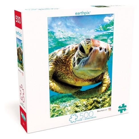 Buffalo Games Earthpix: Turtle Swimmer Puzzle 500pc - image 1 of 4