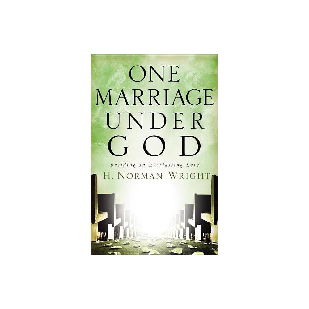 One Marriage Under God - by H Norman Wright (Hardcover) God's Dream for Marriage Can Be Reality! Who still treasures God's dream for marriage? The institution of marriage has been assaulted with a vengeance, bringing high divorce rates, widespread cohabitation, and a sharp decline in esteem for traditional marriage; but a ray of hope burns steady and bright. By returning to God's original intent for marriage, we can overcome all of this world's attacks against it. One Marriage Under God, by bestselling author and educator Dr. H. Norman Wright, unfolds in a fresh way what God's dream for our marriages really involves, and how to recover it--for good. Couples find hope, healing, and new joy in their God-ordained union. What's It Like Being Married to Me? Stepping into someone else's shoes never fails to bring fresh insight. Ever tried on God's? Bestselling author and educator H. Norman Wright cuts through the cultural confusion and clarifies the institution of marriage as God originally created it--a beautiful, committed, eternal bond. A bond that leaves only one option for anyone who's ever said I do: Make it work, no matter what. But how? Wright considers the temptations and struggles facing today's couples and offers practical, proven guidance steeped in God's Word. You and your spouse will discover how to answer the call to be one, meet the challenge to love, and rise to the occasion of sharing your story with others. One Marriage Under God will help you see things from God's perspective. It's the best thing you will ever do for your marriage. Become a Marriage Keeper Popular culture attacks it and your own doubts can plague it, but God's original intent for marriage will forever remain. You can honor Him by choosing to preserve, honor, and nurture your own marriage as well as the marriages around you. God is calling forth Marriage Keepers to make a difference in society today. One Marriage Under God explores thought-provoking insights: - Whether you married the  