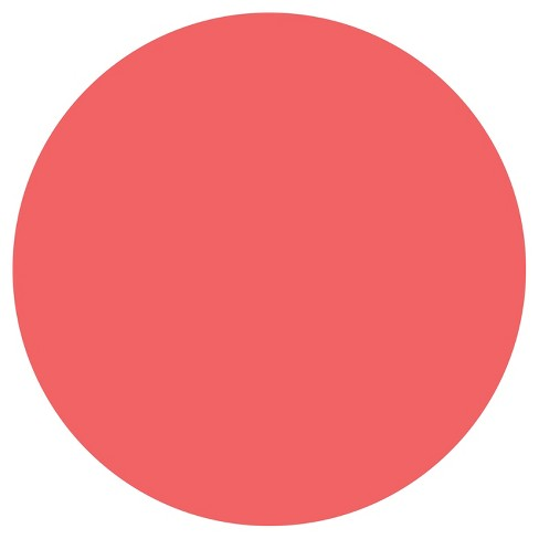 """Wall Pops!  Dry Erase Board Circle Decals 13"""" 6ct - Coral - image 1 of 3"""
