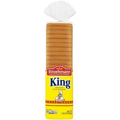 Stroehmann King White Sandwich Bread - 22oz