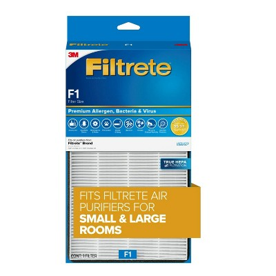 Filtrete Premium Allergen Bacteria & Virus True HEPA Room Air Purifier Filter