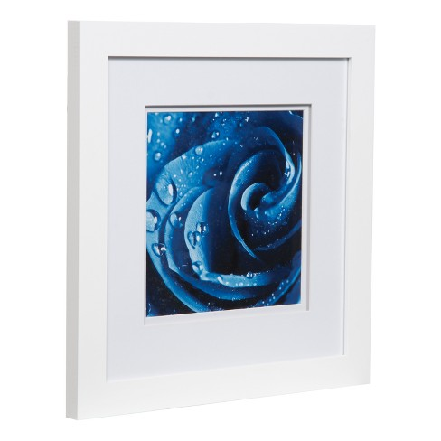 Single Image 12X12 Wide Double Mat White 8X8 Frame - Gallery ...