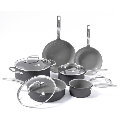 Greenpan Chatham 10pc Ceramic Non Stick Cookware Set Target