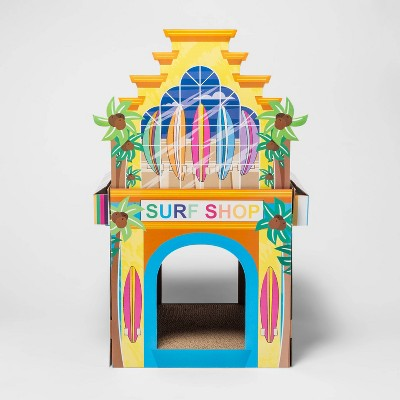 Surf Shop 2 Story Cat Scratch House - Sun Squad™
