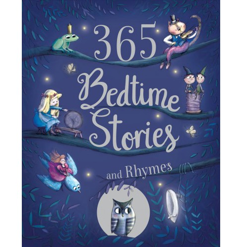 365 Bedtime Stories and Rhymes (Deluxe) (Hardcover) - image 1 of 1